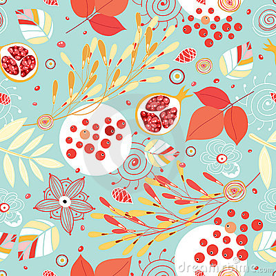Free Autumn Seamless Pattern Royalty Free Stock Images - 15928329