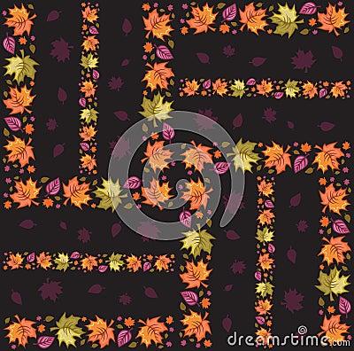 Autumn  Seamless Pattern 2