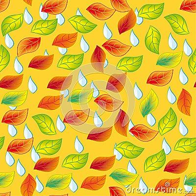 Autumn seamless pattern.