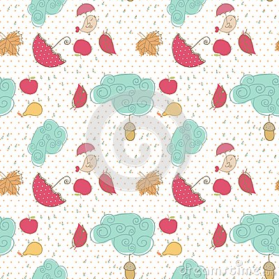 Autumn, seamless pattern