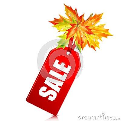 Autumn seasonal sale