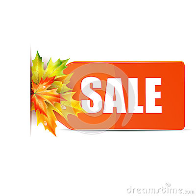 Autumn seasonal sale