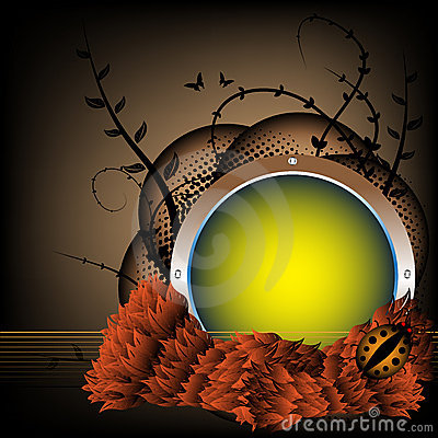 Autumn spherical frame