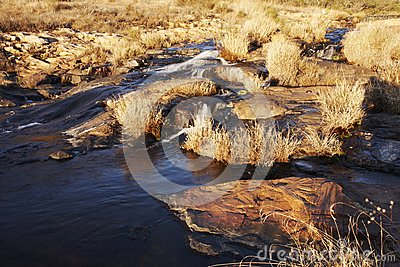 Autumn Stream Stock Photography - Image: 15087342