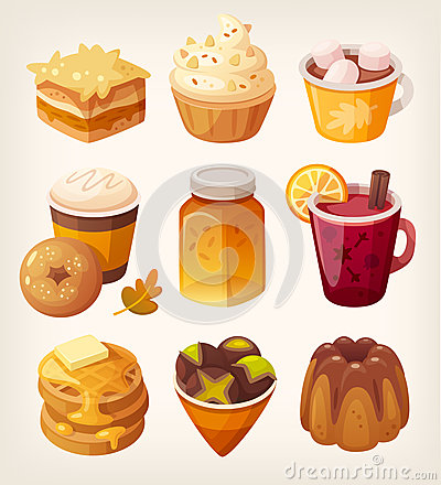 Free Autumn Sweets And Desserts Royalty Free Stock Photo - 79719045