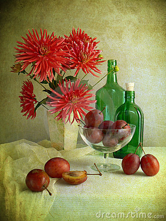 Free Autumn Table Stock Photo - 6364180