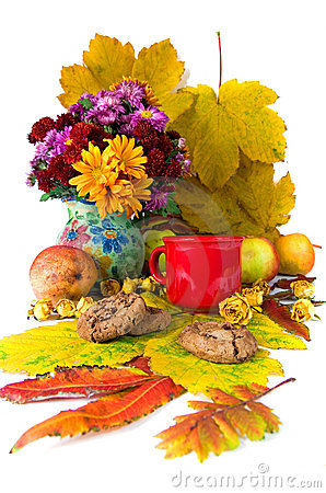 Autumn Tea Stock Photography - Image: 22006592