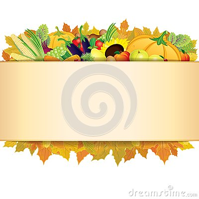 Free Autumn Thanksgiving Background. Vector EPS 10 Royalty Free Stock Images - 32446499