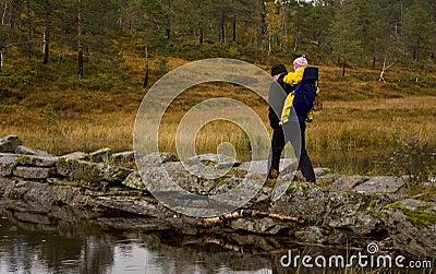 Autumn trekking