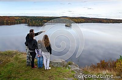 Autumn trip for whole family