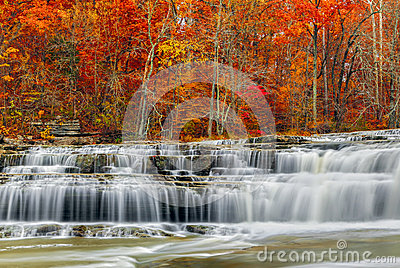 Autumn at Upper Cataract Falls