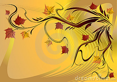 Autumn. vector