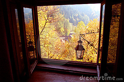 Autumn view Stock Photo