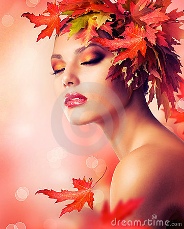 Free Autumn Woman Stock Image - 21743091