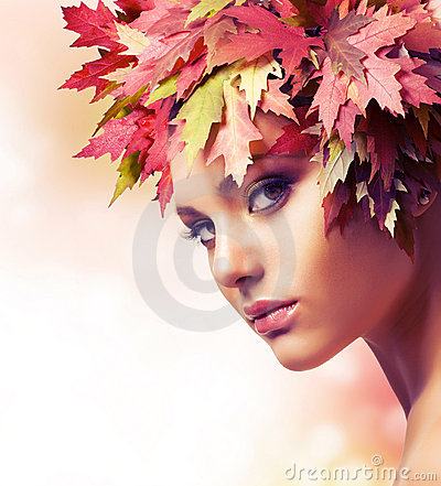 Free Autumn Woman Stock Photography - 21950942
