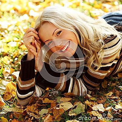 Free Autumn Woman Royalty Free Stock Photos - 26239968