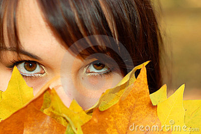 Autumn woman #7