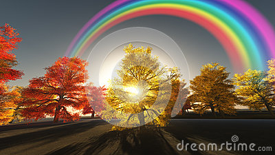 Autumnal Rainbow