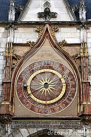 Auxerre clock