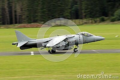 AV-8B Harrier attack aircraft