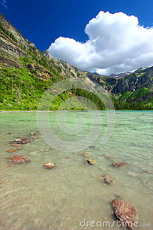Avalanche Lake of Montana