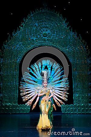 Free Avalokitesvara Dance(3) Royalty Free Stock Images - 33118719