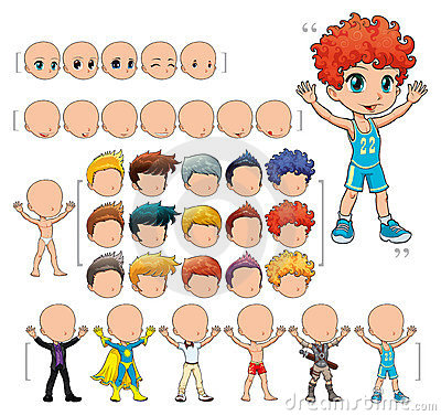 Free Avatar Boy, Illustration, Isolated Objects. Stock Images - 18270174