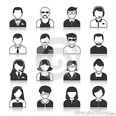 Free Avatar Characters Icons Set Stock Photo - 39491750