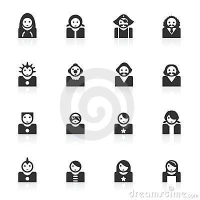Avatar Icons 2 - minimo series