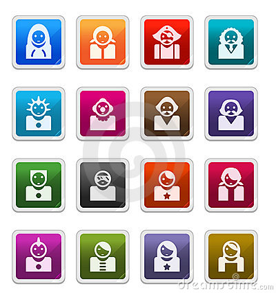 Avatar Icons 2 - sticker series
