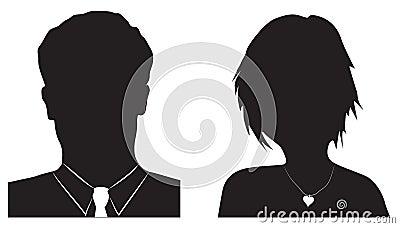 Avatar masculino feminino