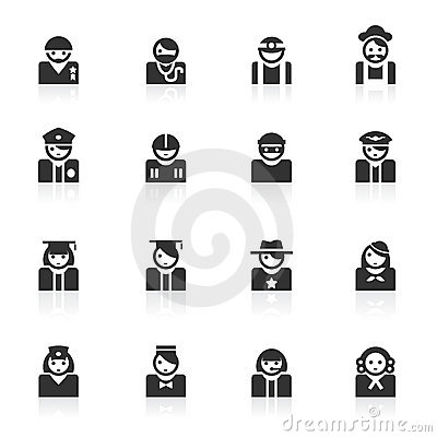 Avatar ( occupation ) Icons - minimo series