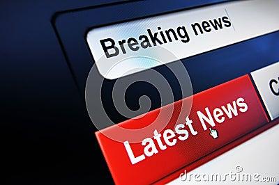 Avbrott av nyheterna