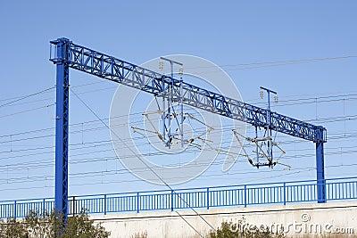 AVE train catenary
