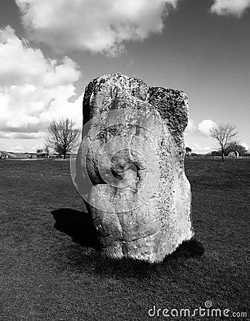 Avebury plattform stenar