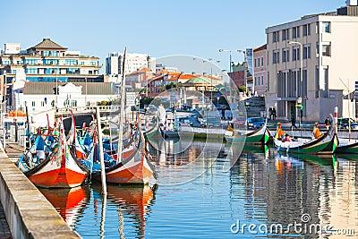 Aveiro, Portugal view