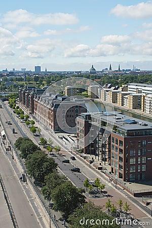 Avenida de Langeline, Copenhaga