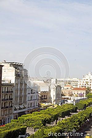 Avenue Habib Bourguiba Tunis Tunisia