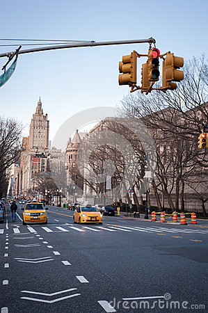Avenue in New York City Editorial Photography