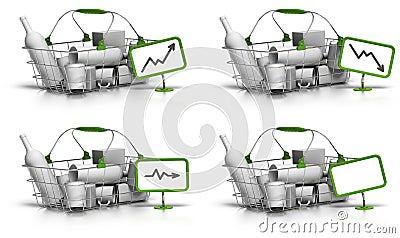 Average basket size or value