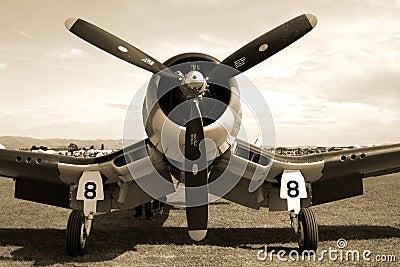 Avión de combate del corsario