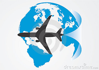 Aviation around the globe.