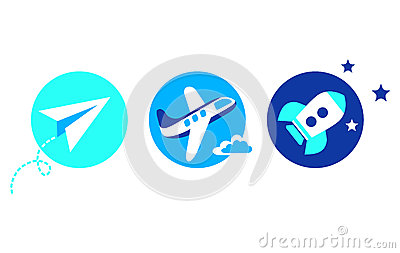 Aviation set - 3 icons