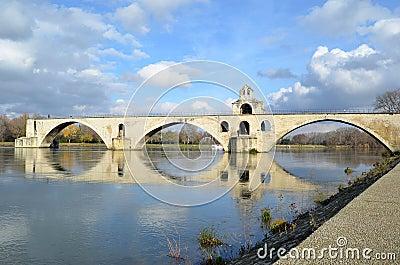 Avignon famous bridge