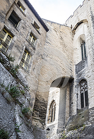 Avignon, Palais des Papes, rear view