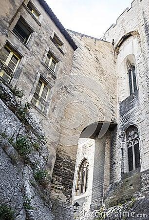 Avignon, Palais des Papes, rear view