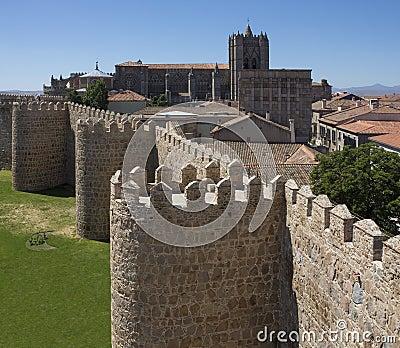 Avila city walls - Spain