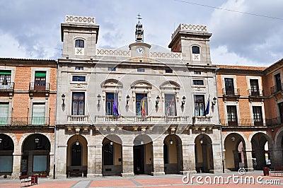 Avila Mayor square