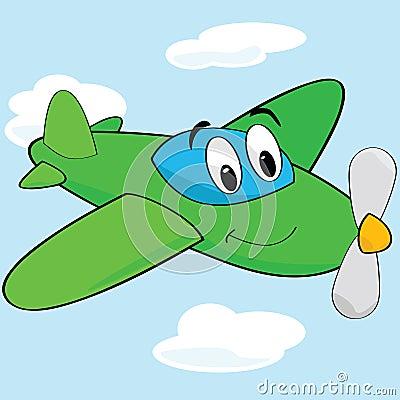 Avion de dessin anim photo libre de droits image 15218385 - Dessin d un avion ...