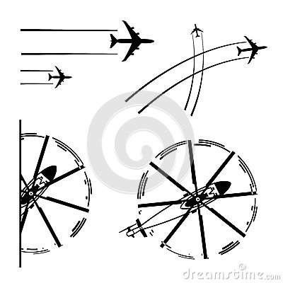 Aviones del transporte